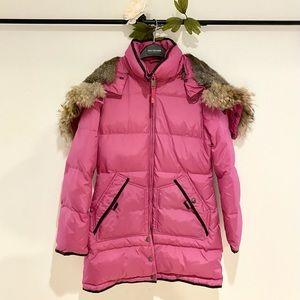 ❤️ Pajar Cougar Down-Fill Winter Jacket w/Fur Hood